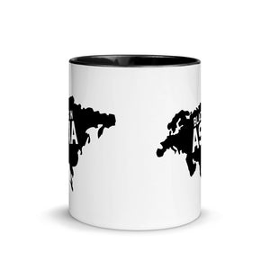 Black In Asia Mug with Black Color Inside