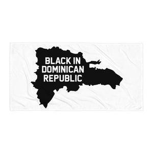 Black In Dominican Republic Towel