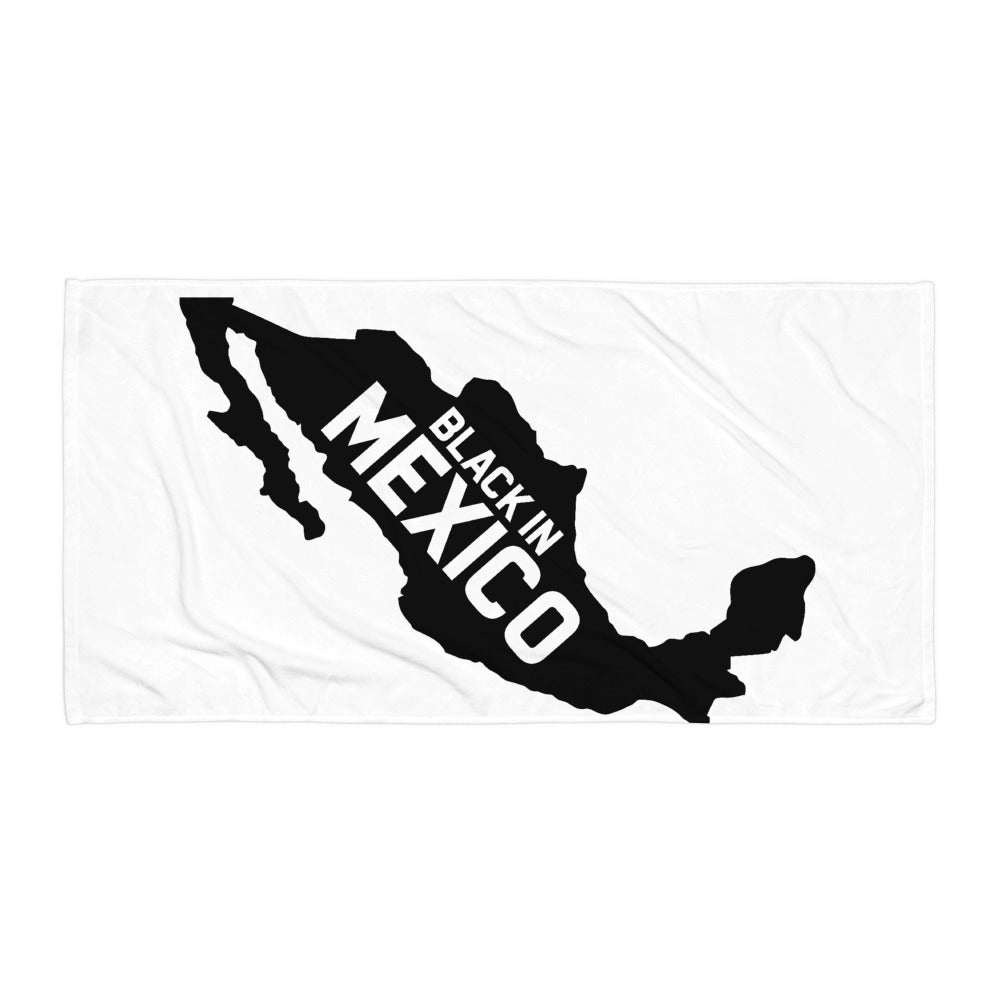 Black In Mexico Towel