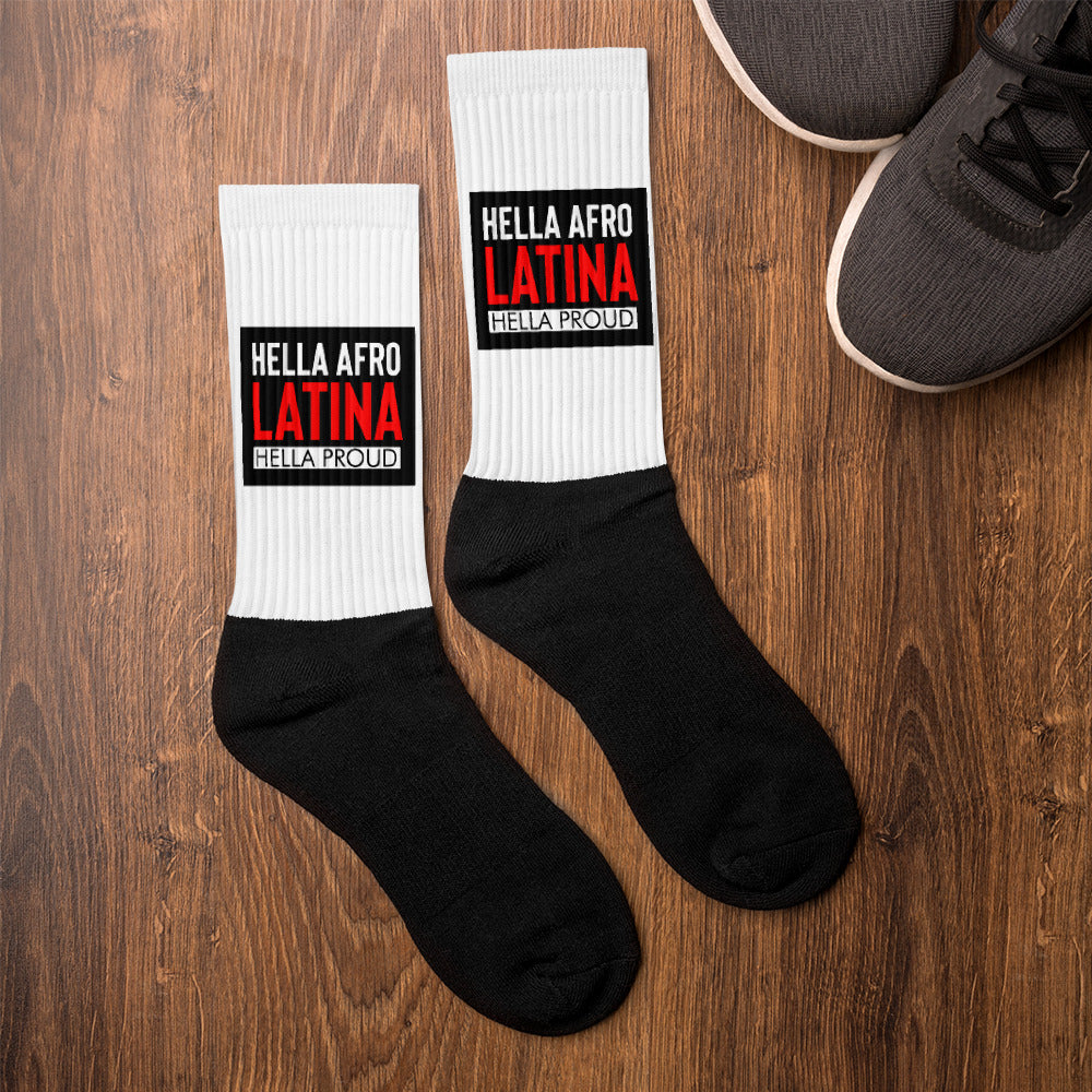 Afro Latina Socks