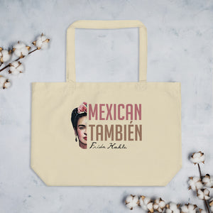 Large Organic Frida Tote Bag