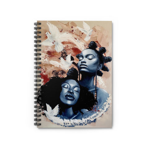 Pacify Spiral Notebook - Ruled Line