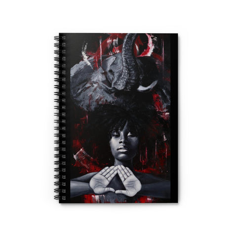 Delta Sigma Theta Spiral Notebook - Ruled Line