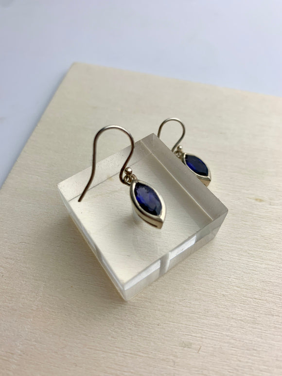 Iris Earrings- Iolite