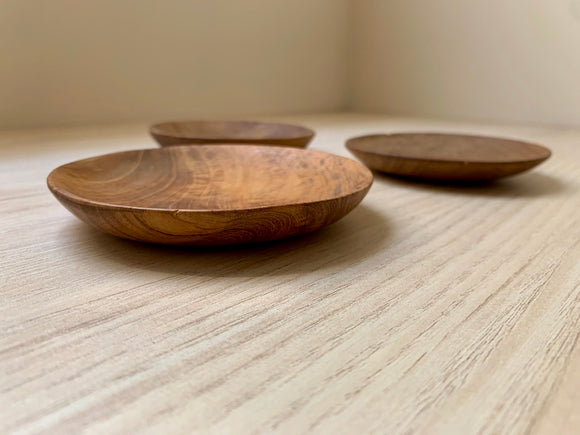 Concave Wooden Dish