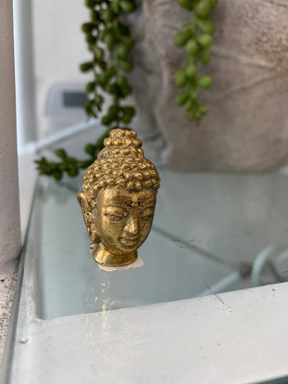 Brass Gold Buddha Incense Holder