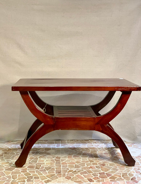 Arc Wood Table