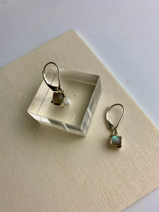 Sleeper Labradorite Earrings