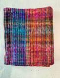 Multicoloured Hugger Blanket Full
