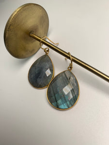 Reina Earrings Labradorite