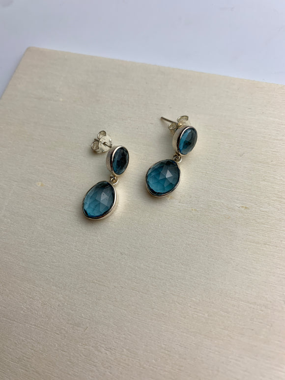 Stacked Droplet Earrings