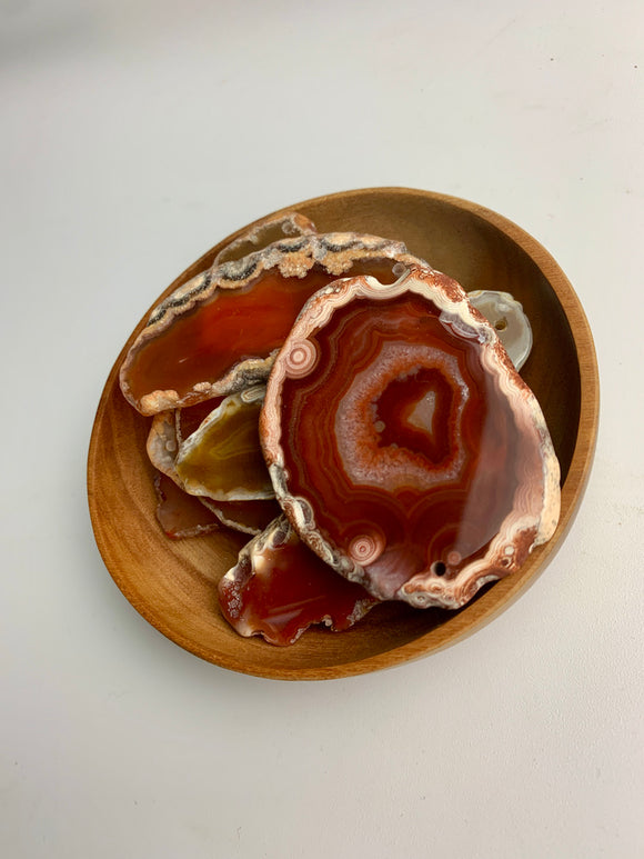 Agate Slice Red