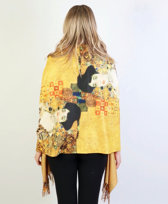 The Woman in Gold Gustav Klimt Scarf