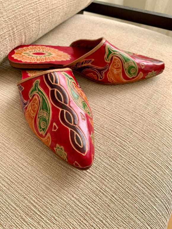 Leather Slipper Shoe