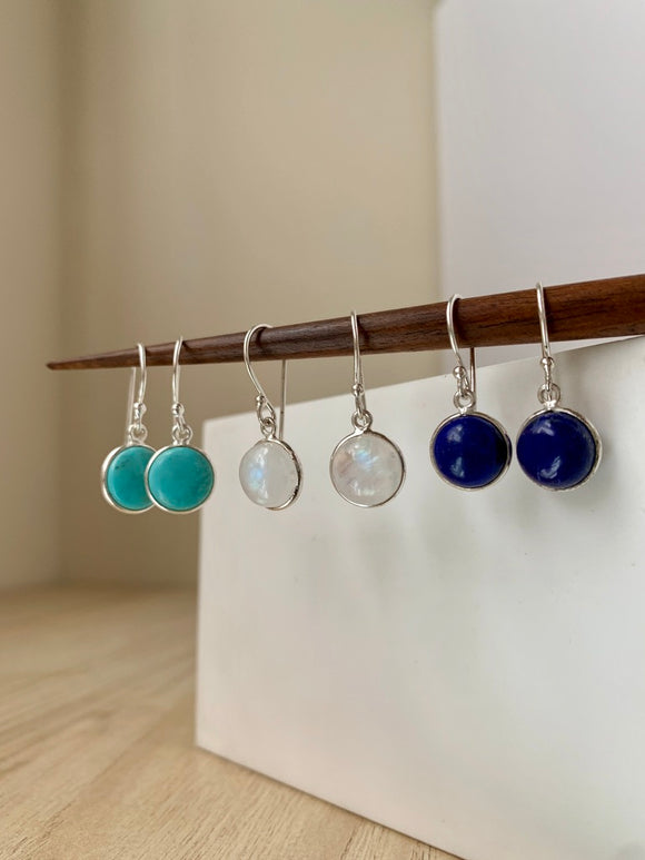 Gemstone Drop Earring