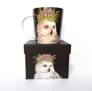 Snow Queen Owl Mug