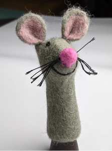 Finger Puppet- Mouse