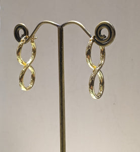 Figure 8 Hoops - Gold Plated