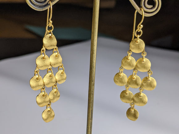 Cloud 9 earrings - Gold