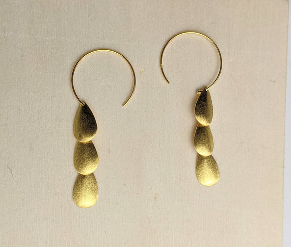 Tesoro Trio Drop Earrings