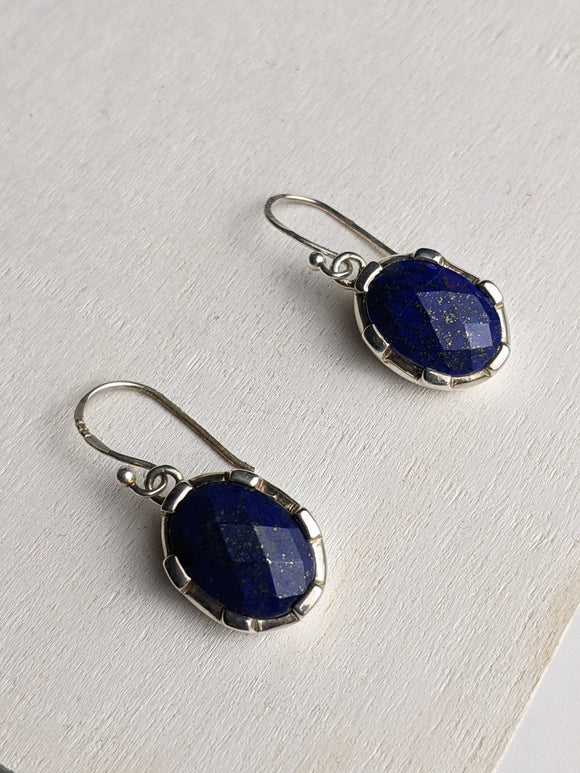 Castle Blue Earring