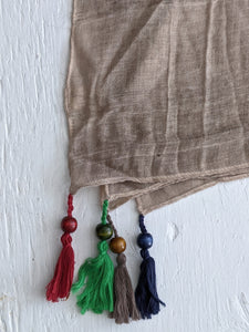 The Travellers Scarf- Taupe