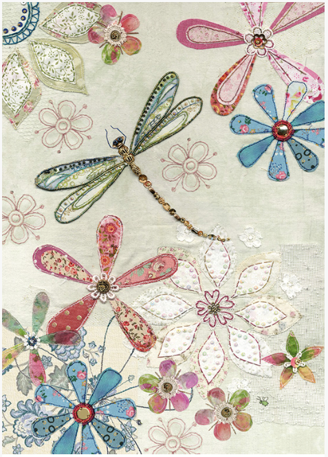 Floral Dragonfly