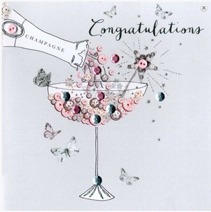 CONGRATULATIONS – Champagne Glass