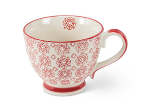 Red Stamp Large Mug