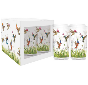 Meadow Buzz Drinking Glasses, Set of 4