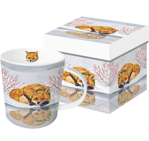Fox Reflected Gift-Boxed Mug