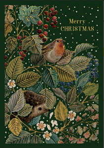 Woodland Creatures- Merry Christmas Card