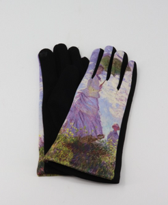 Woman with Parasol Claude Monet Gloves
