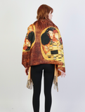 Gustav Klimt The Kiss Scarf