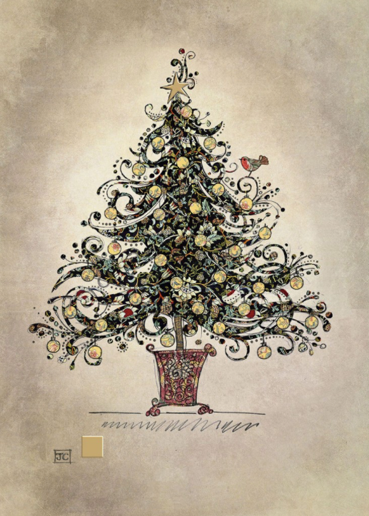 Holiday Chintz Tree