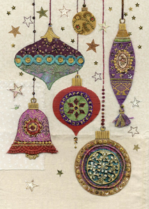 Ornate Ornaments Card