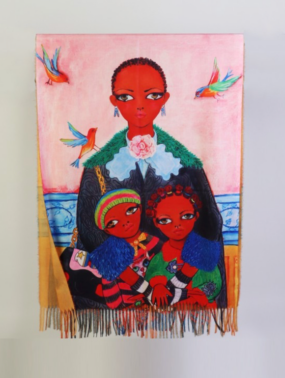 Constance, Grace and Hope Scarf
