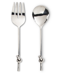 Salad Servers with Knot Handle