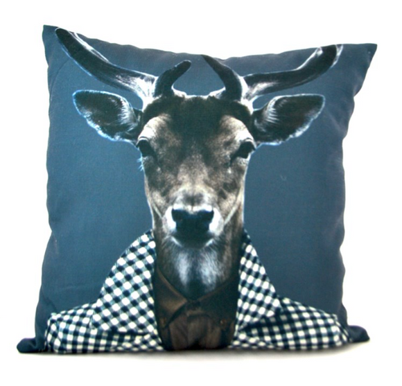 Deer Gentleman Pillow