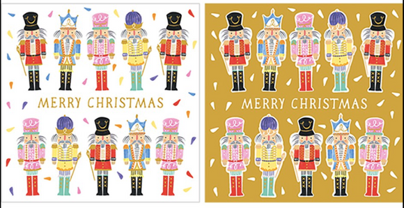 Nutcracker-Merry Christmas -10 Pack Cards