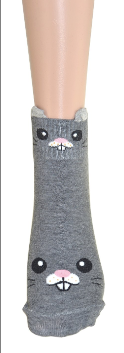 Grey Rabbit Socks - Women's