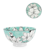 "Sakura Bloom- Porcelain 22 oz 6"" Diameter Bowl"