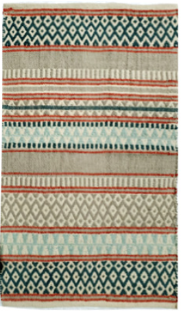 Cotton Rug- Multi Colourful Pattern