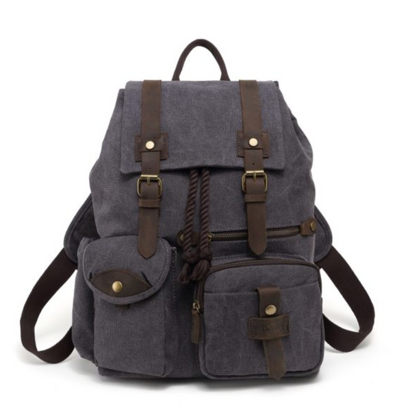 Across the Globe Backpack Grey
