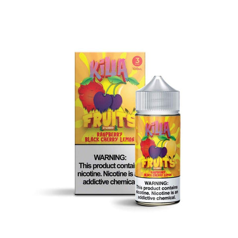 KILLA FRUITS RASPBERRY BLACK CHERRY LIME 100ML