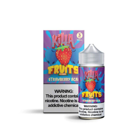 KILLA FRUITS STRAWBERRY ACAI 100ML