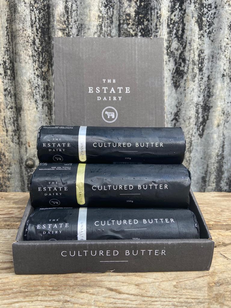 Salted cultured butter - The Estate Dairy