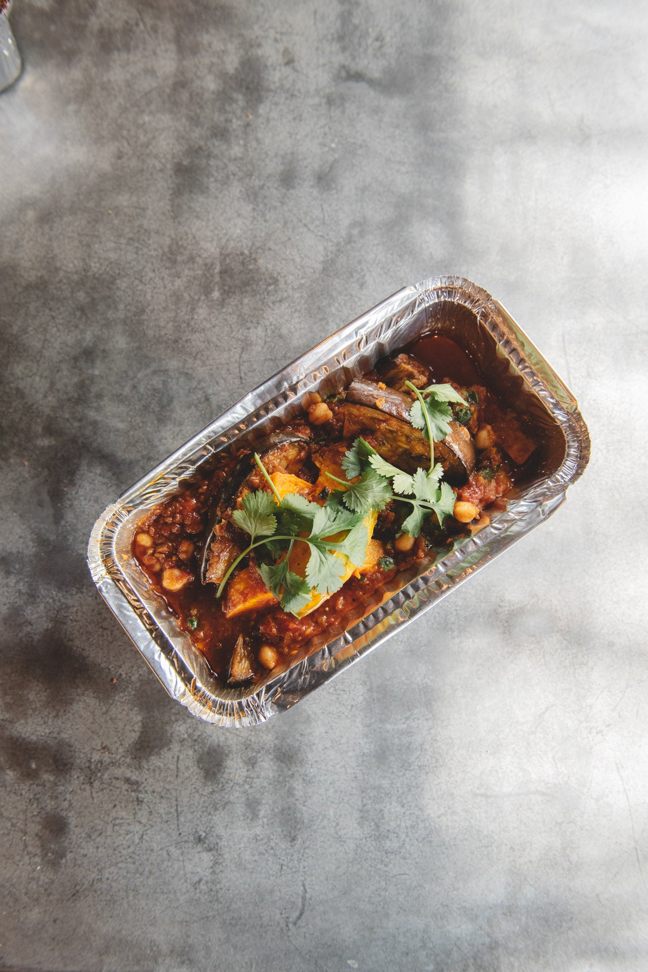 *NEW* Natasha Corrett's Indian fenugreek & aubergine Curry