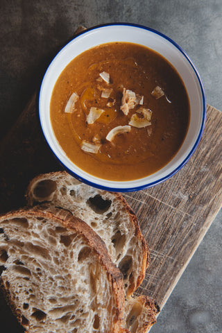*NEW* Roasted sweet potato, chilli & coconut Soup