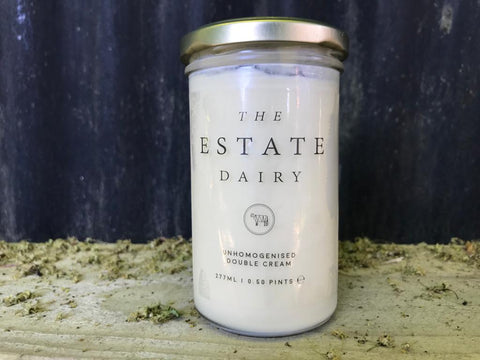 Unhomogenised double cream - The Estate Dairy
